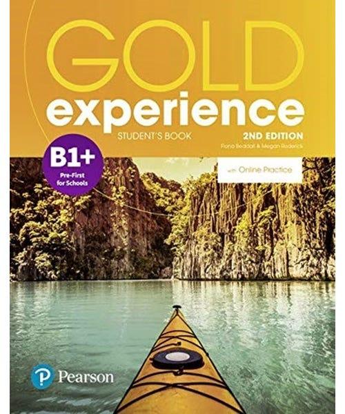 Gold Experience (2Nd) B1+ Student Book + Online  - Mundo Livraria