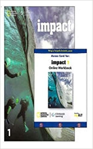 Impact - Ame - 1 - Student Book With Online Workbook  - Mundo Livraria