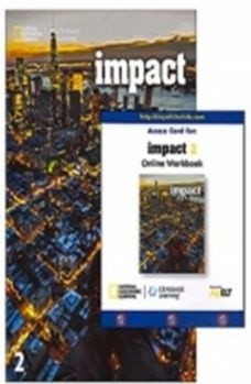 Impact - Ame - 2 - Student Book With Online Workbook  - Mundo Livraria
