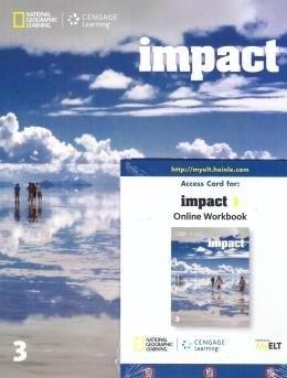 Impact - Ame - 3 - Student Book With Online Workbook (Só Mirassol)  - Mundo Livraria