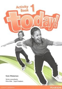 Junior 4 - Today! 1 Students Book + Workbook  - Mundo Livraria