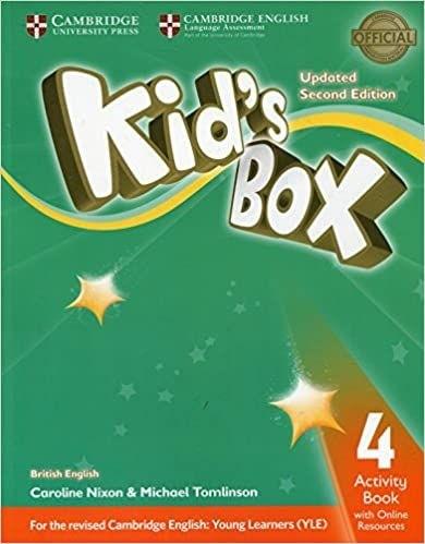 Kids Box 4 AB W Online Resources Up 2ed  - Mundo Livraria