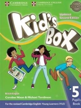 Kids Box 5 PB Updated 2ed  - Mundo Livraria