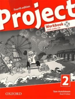 Project 2 - Workbook With Audio Cd And Online - Fourth Edition  - Mundo Livraria