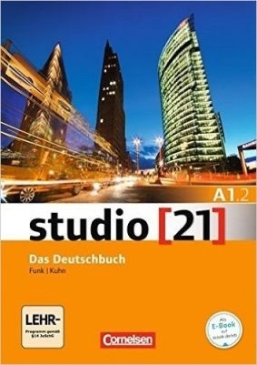 Studio 21 A1.2 - Grundstufe A1: Teilband 2 - Das Deutschbuch (Kurs- und Übungsbuch mit DVD-ROM)  - Mundo Livraria