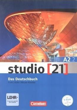 Studio 21 A2.2 - Grundstufe A2: Teilband 2 - Das Deutschbuch (Kurs- und Übungsbuch mit DVD-ROM)  - Mundo Livraria