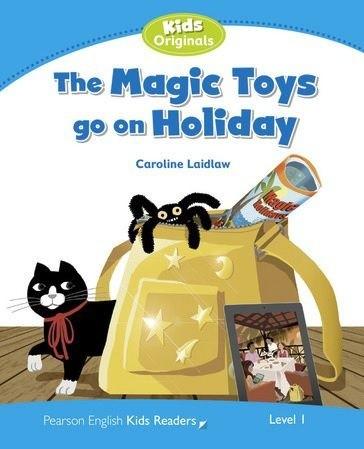 The Magic Toys Go On Holiday - Coleção: Pearson English Kids Readers  - Mundo Livraria