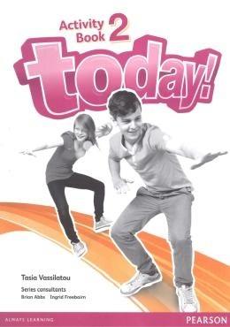 Tweens 1 e 2 - Today! 2 - Students Book + Workbook  - Mundo Livraria