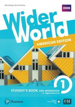Wider World (American) 1 Student + Workbook + Online  - Mundo Livraria