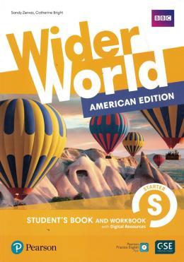 Wider World (American) Starter Student + Workbook + Online  - Mundo Livraria