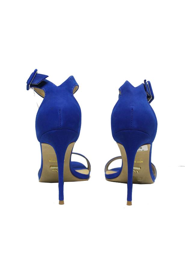 SANDALIA NOBUCK - BLUE - CARRANO