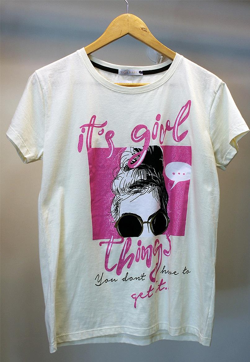 T-SHIRT ITS GIRL - VESTY BRASIL