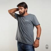 O Lenhador Camiseta Assinatura Cinza