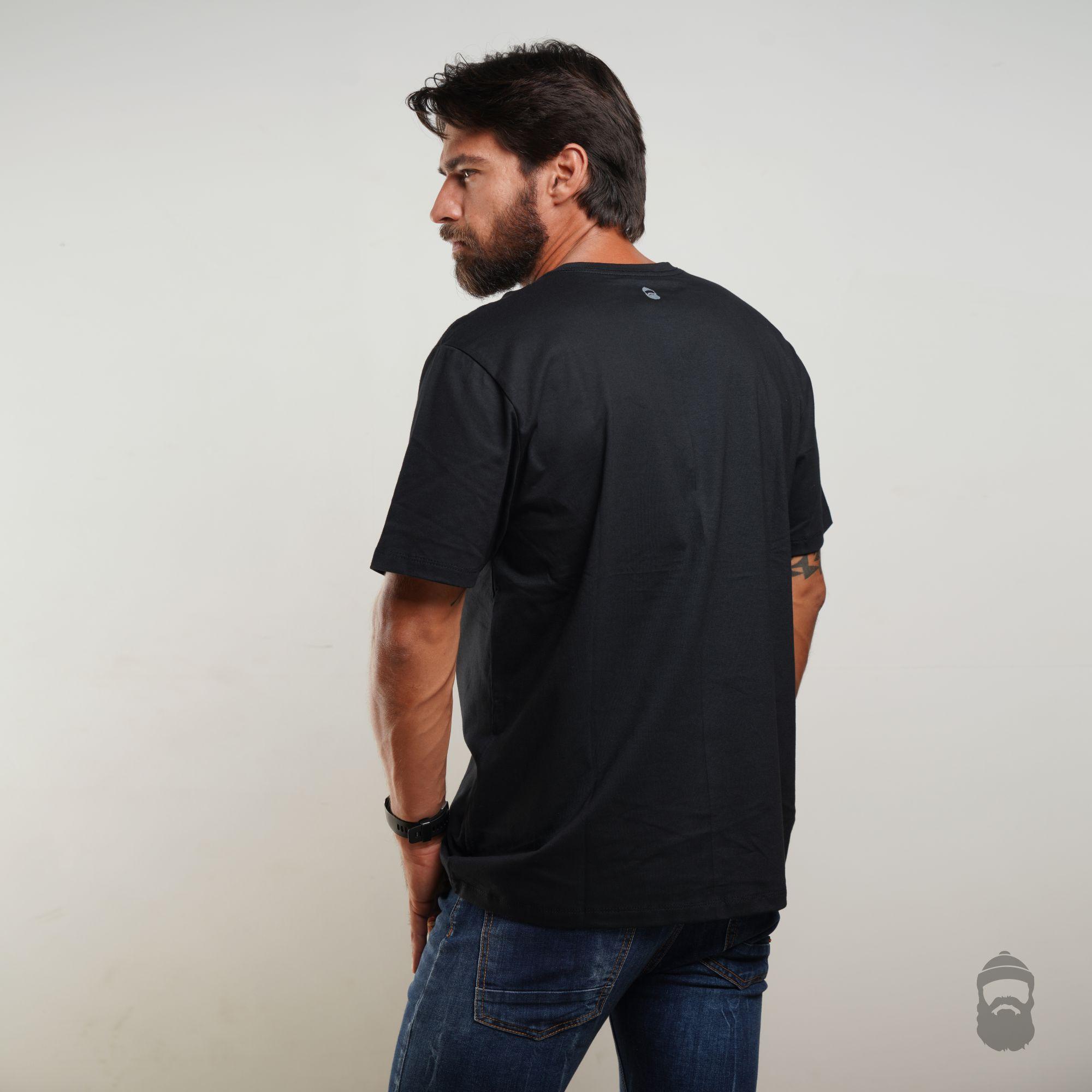 Camiseta Assinatura Preta