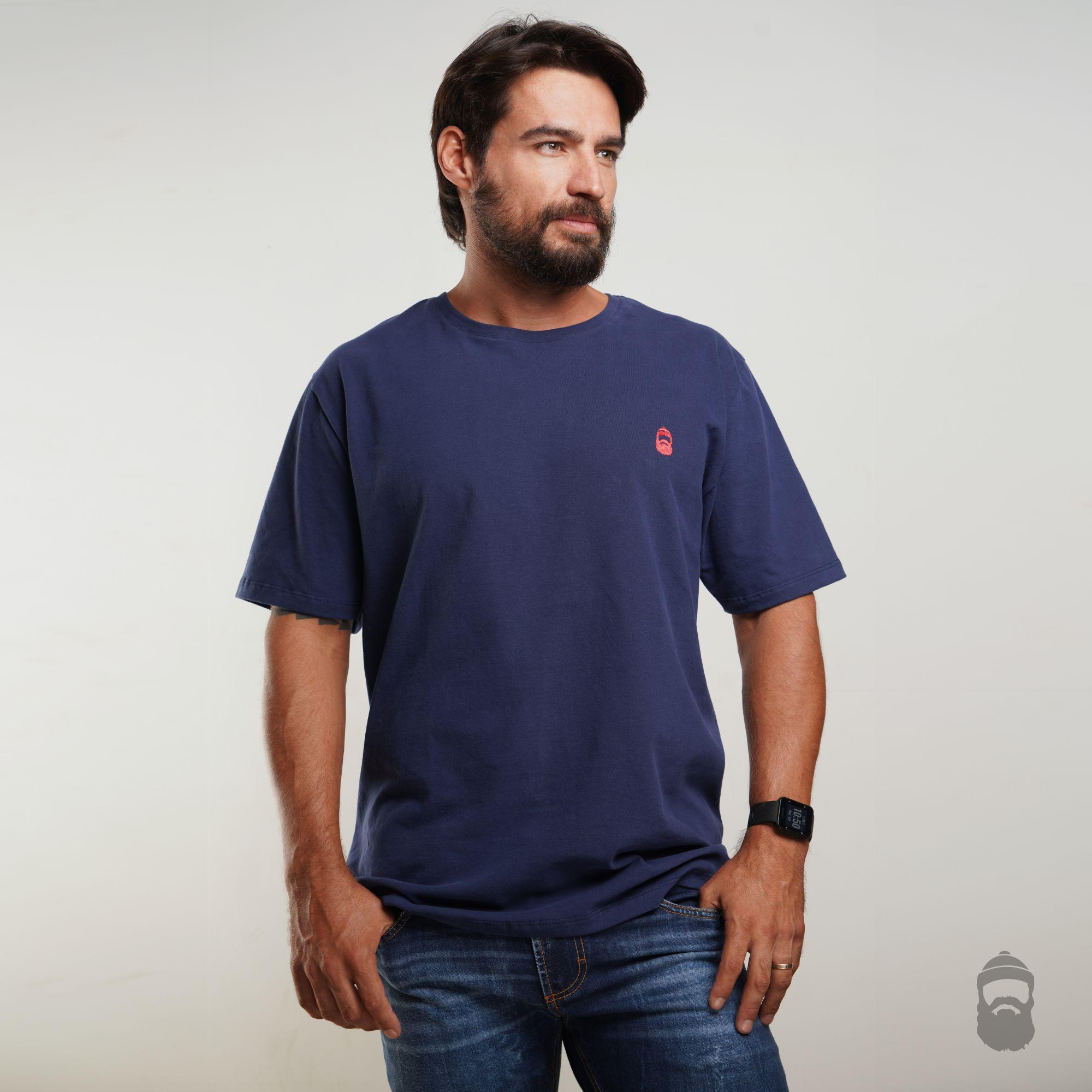 Camiseta Barbudinho Azul Marinho