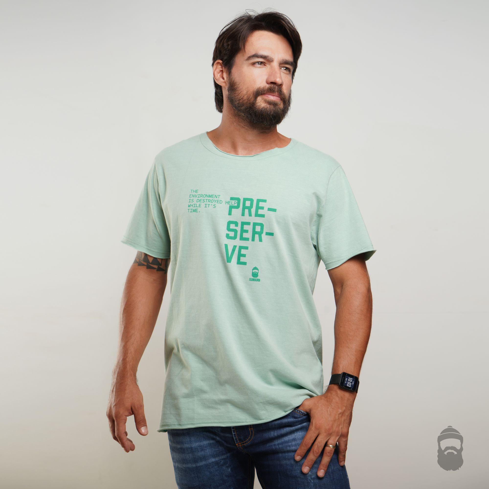 Camiseta Preserve Estonada Verde