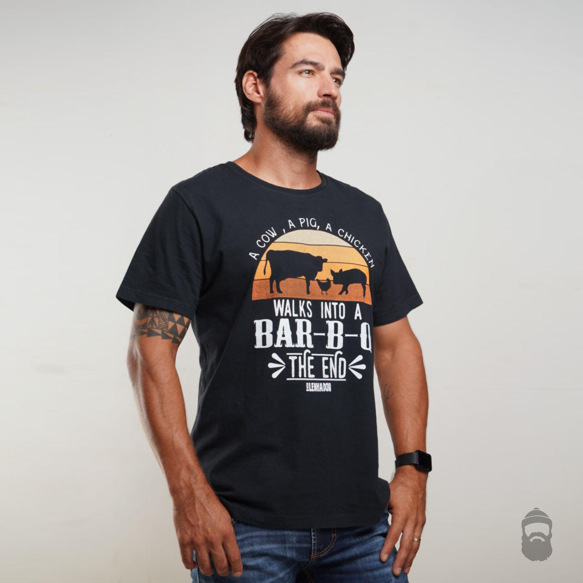 Camiseta The End Estonada Preta