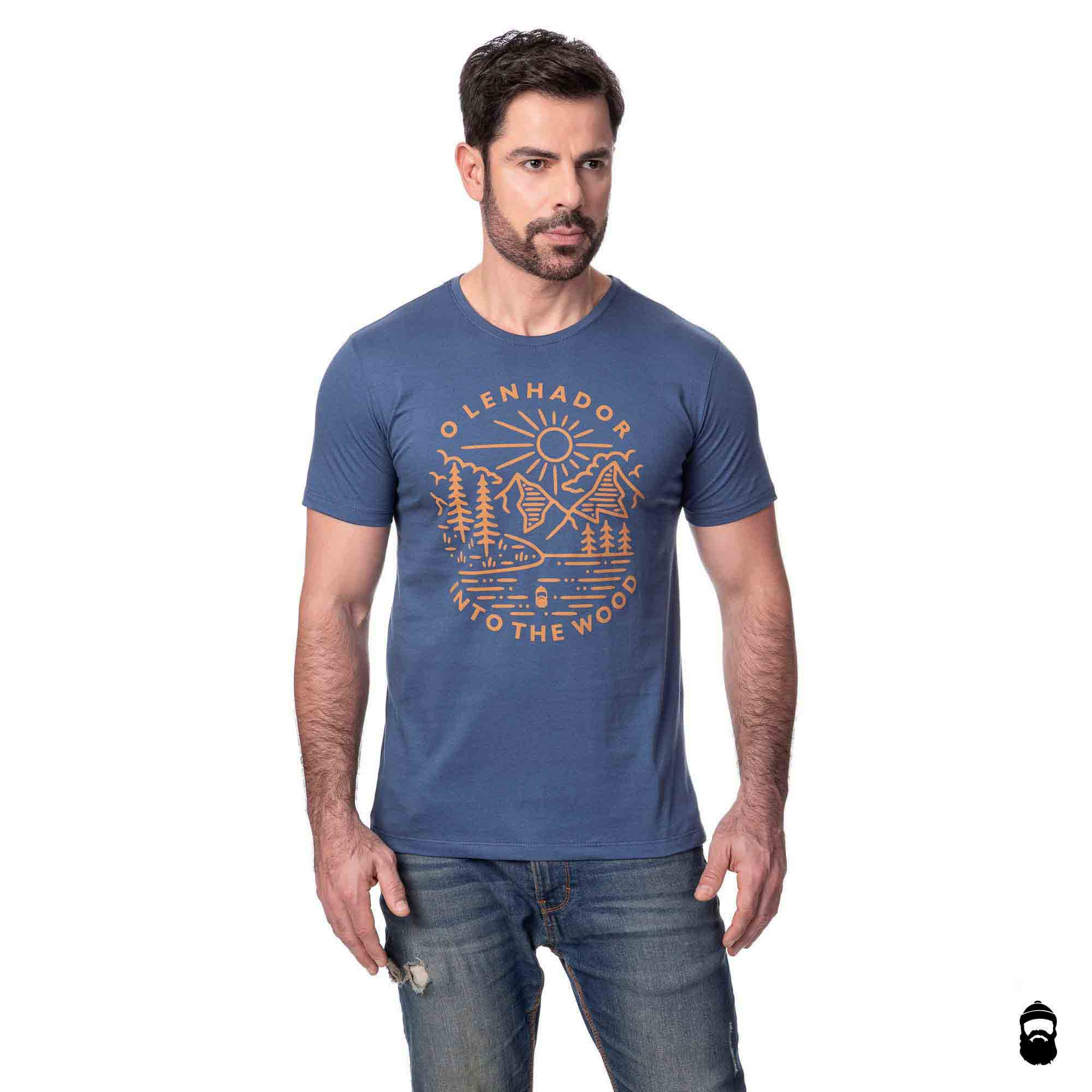 OLNDR PRESERVE INTO THE WOOD AZUL JEANS