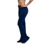 Calça Bailarina Azul Marinho Poliamida