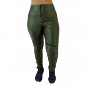 Calça Legging Feminina Cirrê Poliamida Verde