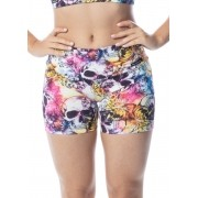 Short Fitness Caveira Mexicana