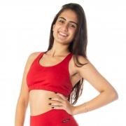 Top Fitness Nadador Decote Redondo