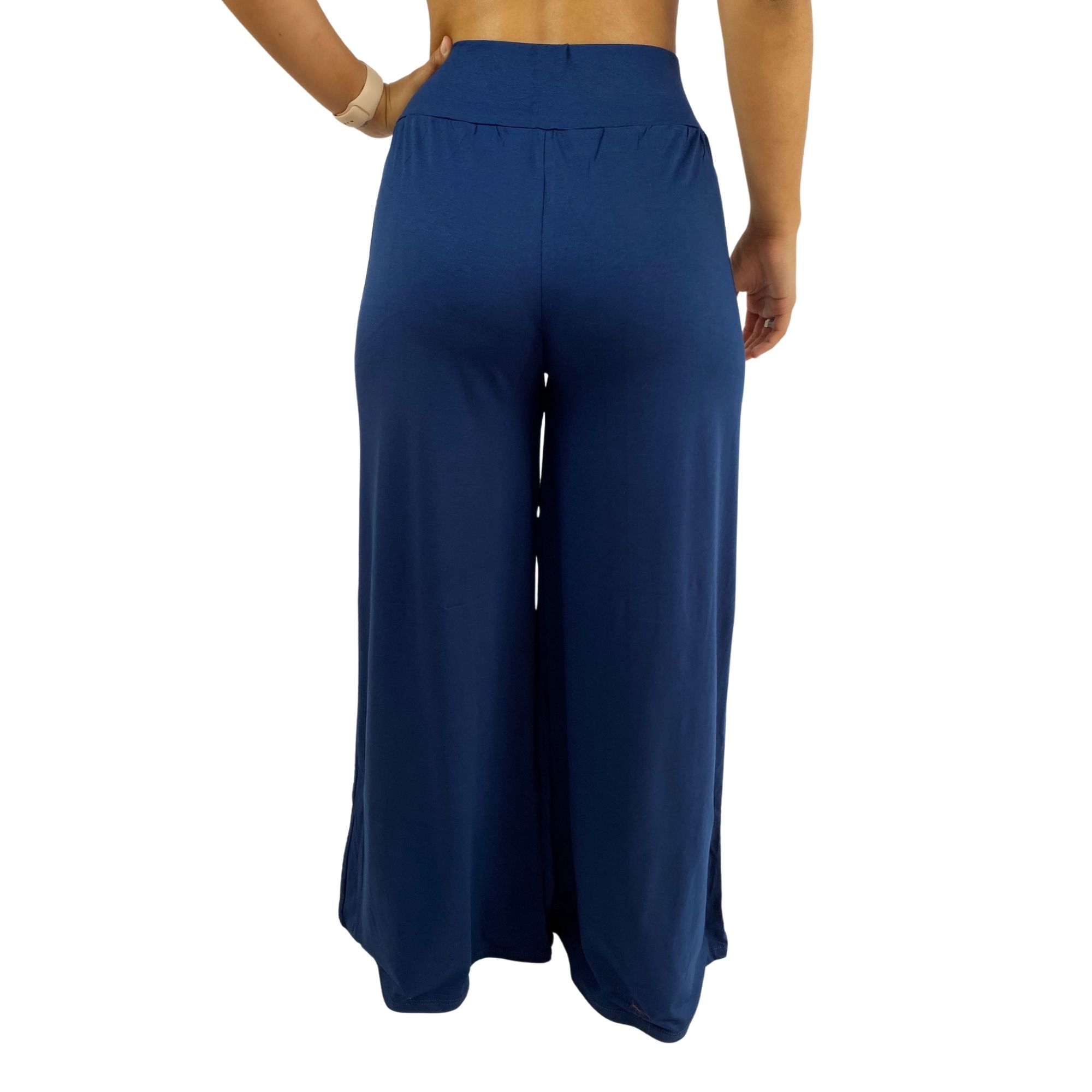 Calça Feminina Pantalona Viscose