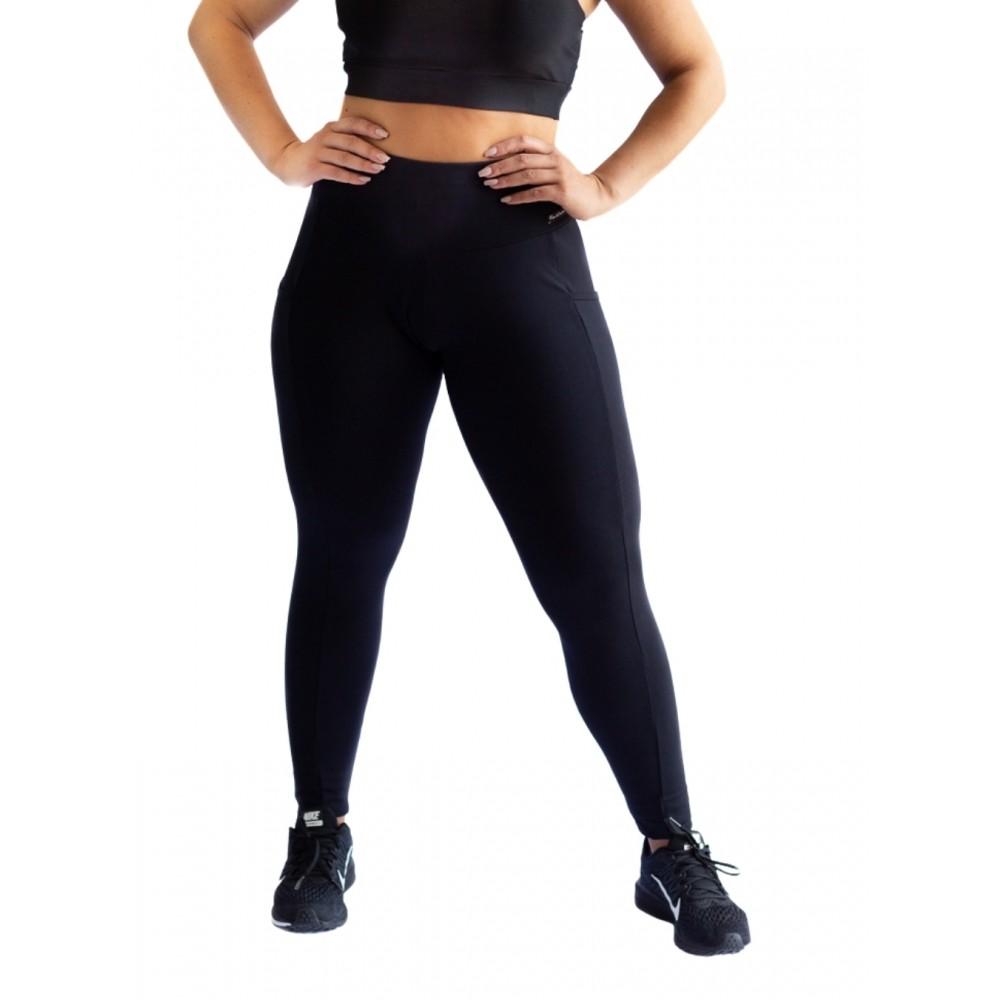 Calça Legging com Bolso Poliamida