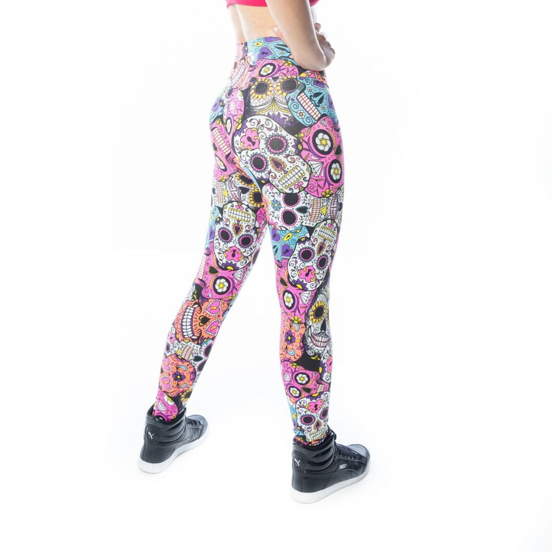 Calça Legging Fitness Caveira Mexicana Katrina
