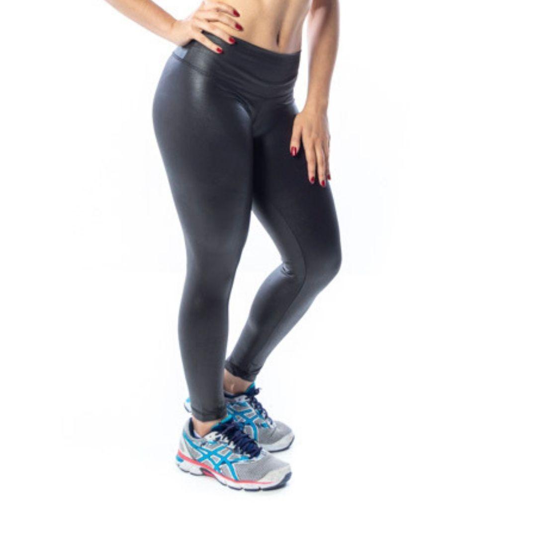 Calça Legging Fitness Cirre Preta