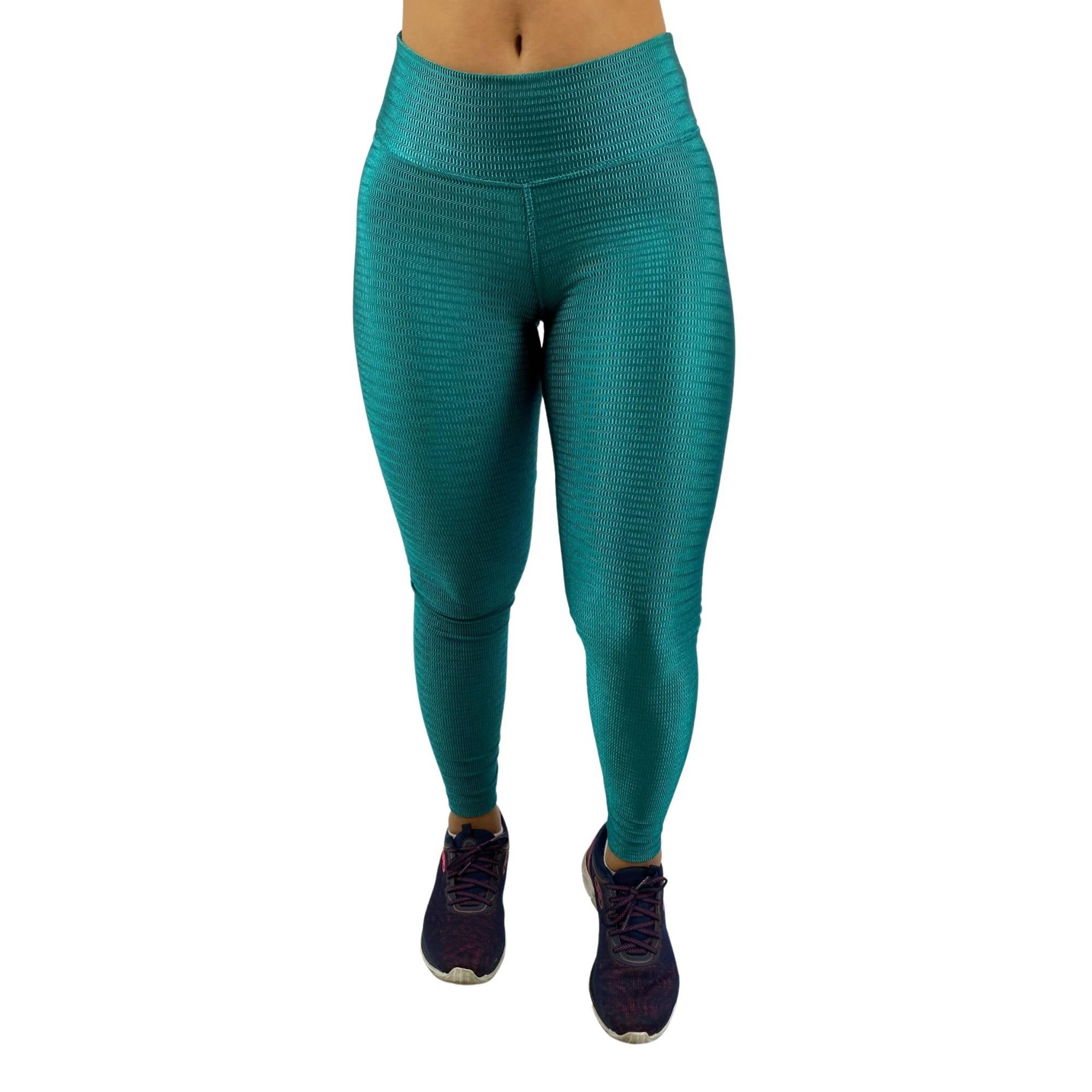 Conjunto Fitness Recomeço Magnetado Verde (Top+Calça)