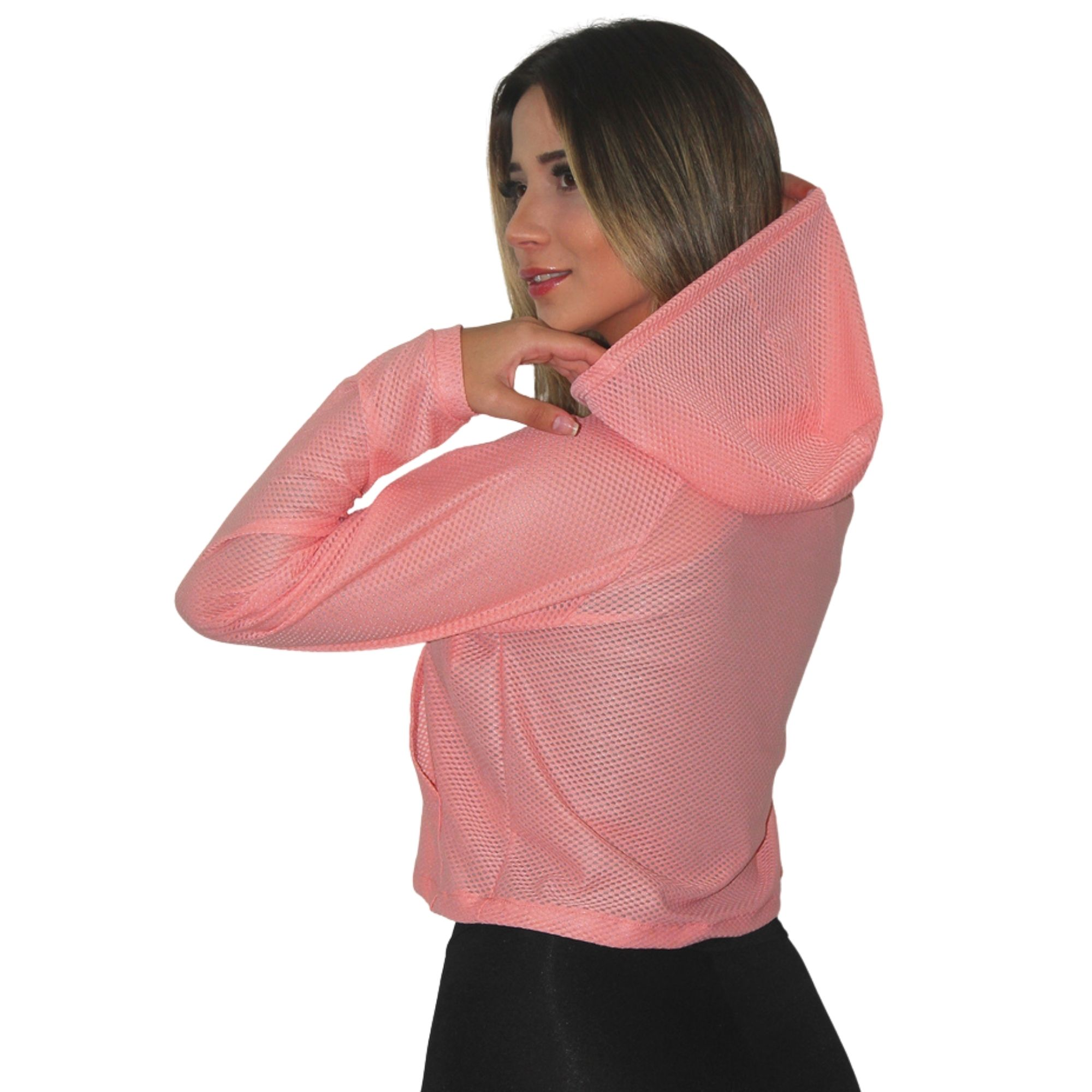 Jaqueta de Bolso Feminina Dry Fit