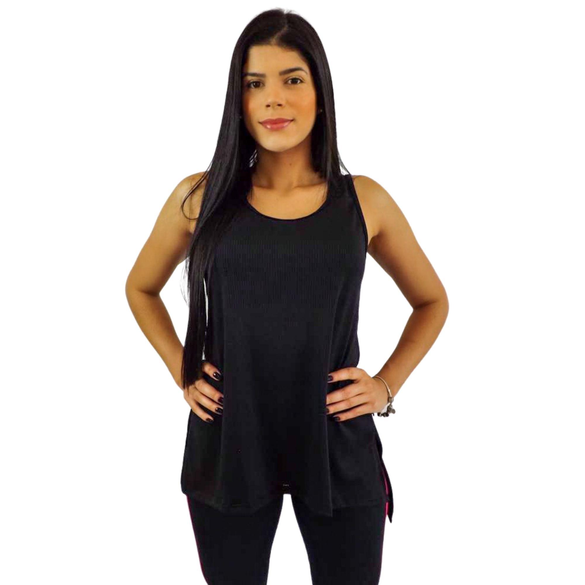 Kit 2 Camiseta Regata Feminina Dry Fit