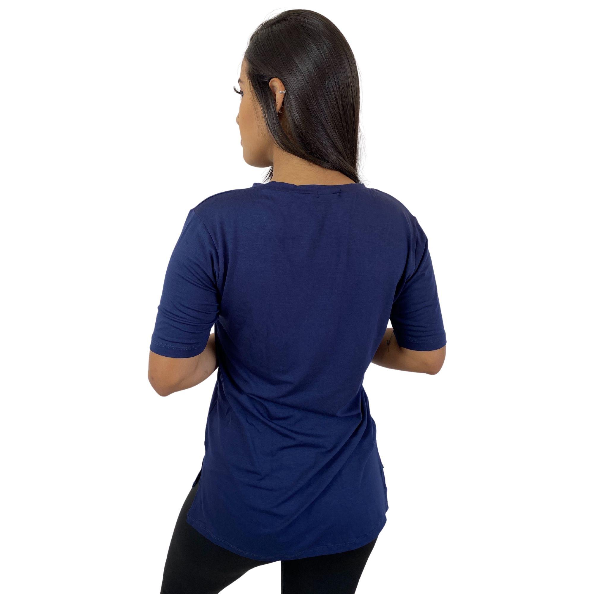 Kit 2 Camiseta Tapa Bumbum Manga Curta