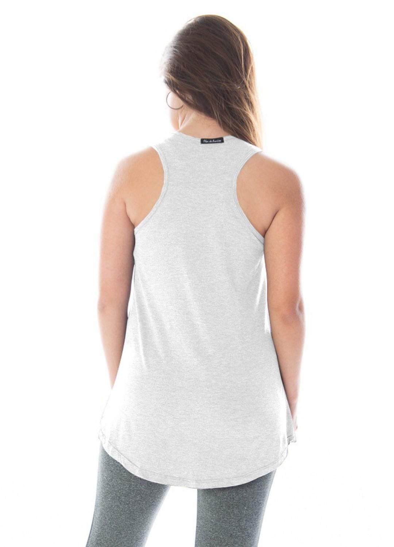 Kit 3 Camisetas Regata Feminina Tapa Bumbum