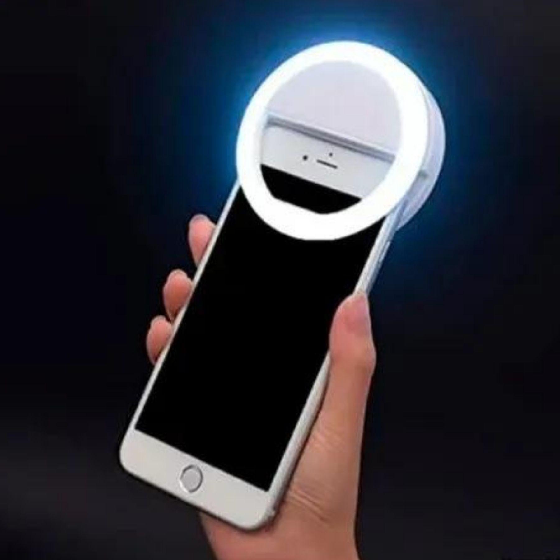 Ring Light Selfie