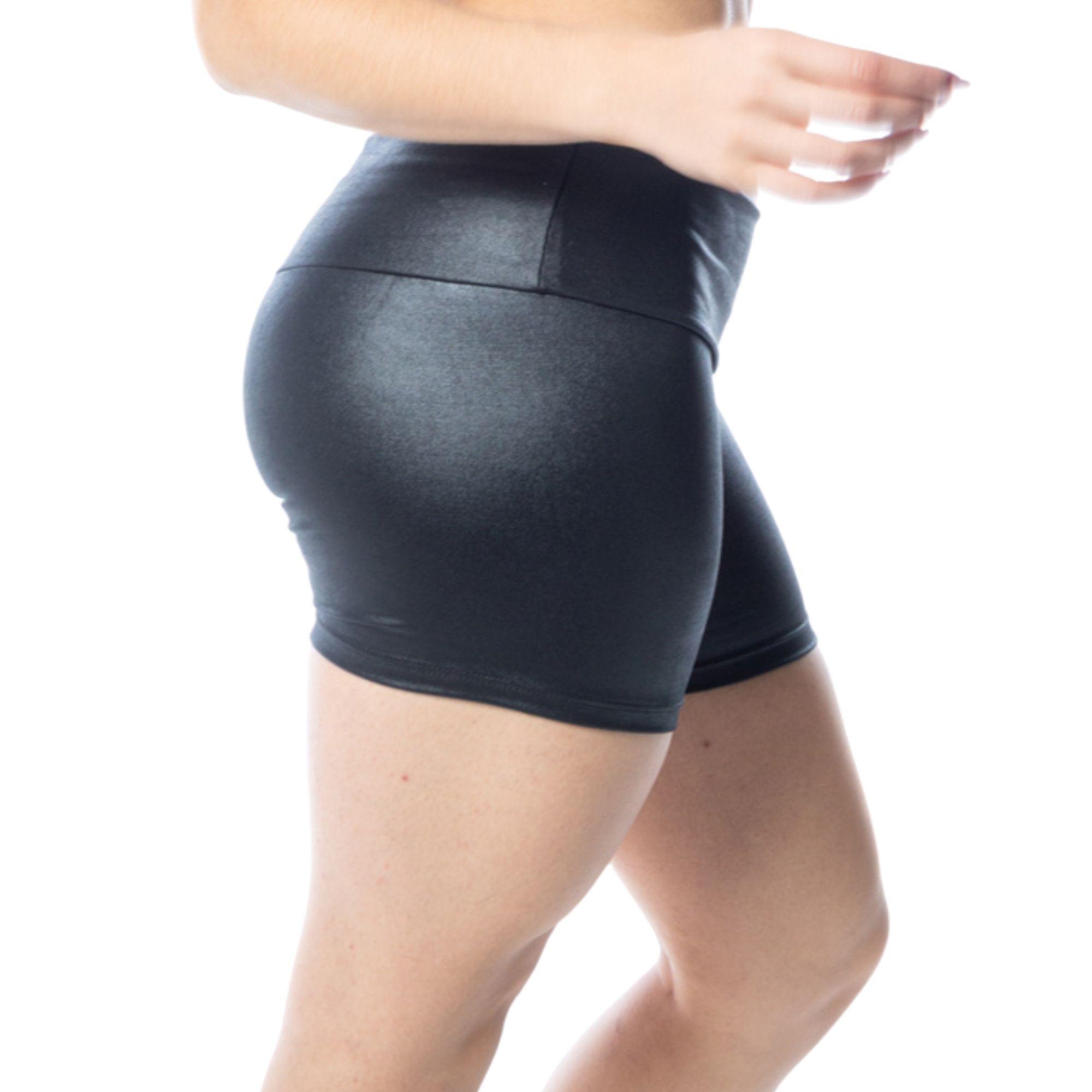 Short Fitness Cirrê Preto