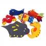 Kit com 6 Fantoches de Animais Marinhos