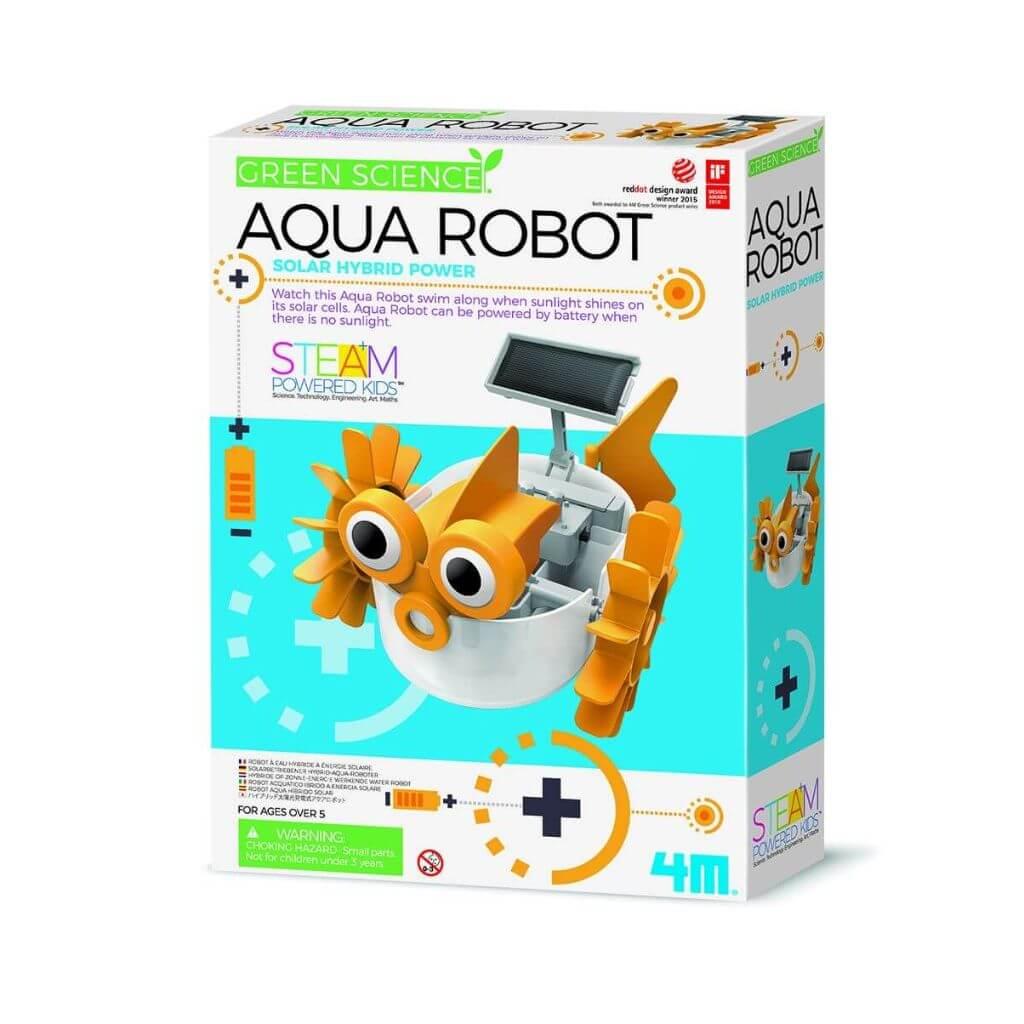 Acqua Robot Ciência Verde