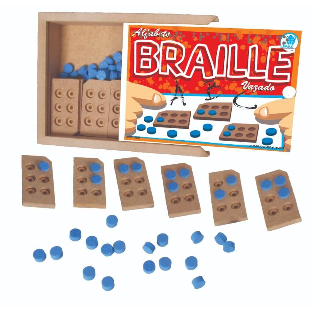 Alfabeto Braille Vazado