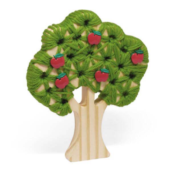 Árvore Macieira para Alinhavar e Tecer