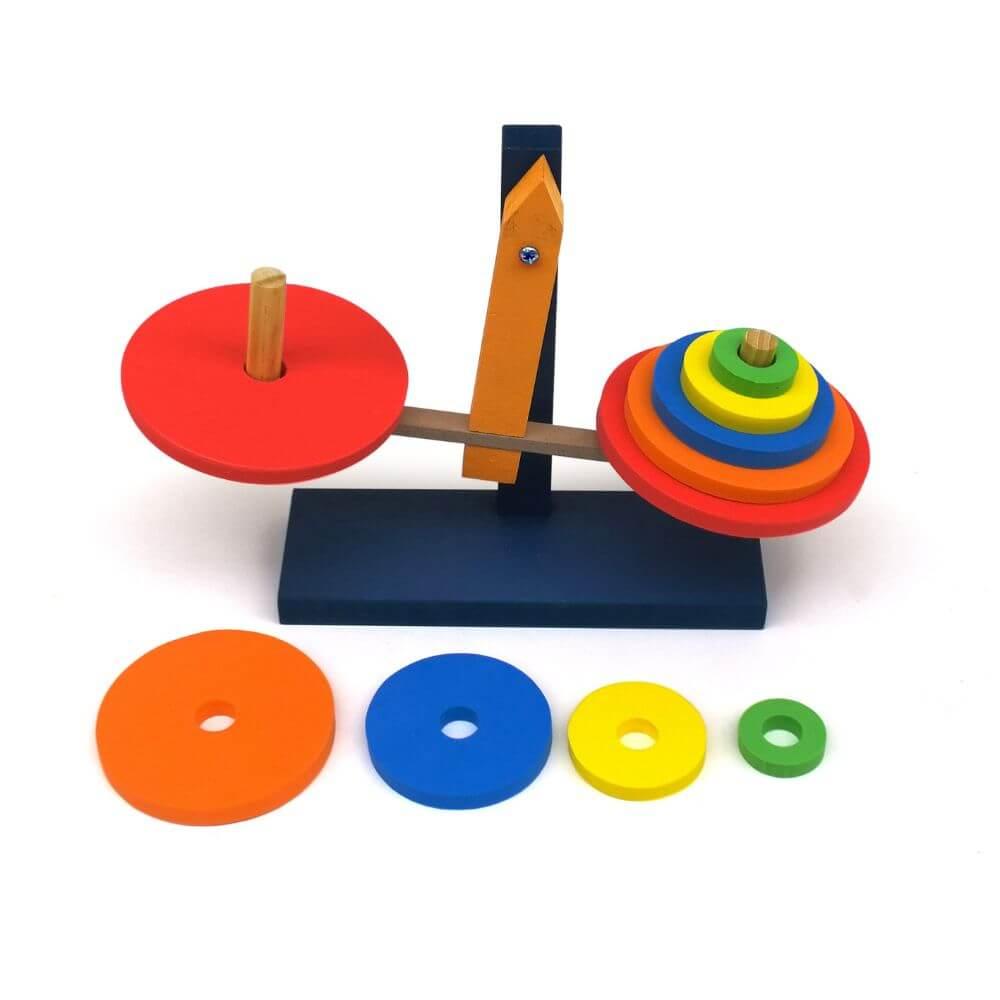 Balança de Equilíbrio Colorida