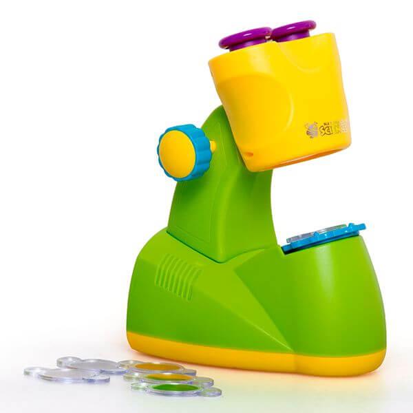 Brincando de Microscópio, o Seu Laboratório em Casa