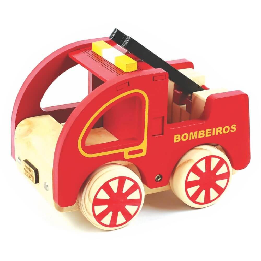 Caminhão de Bombeiro em Madeira