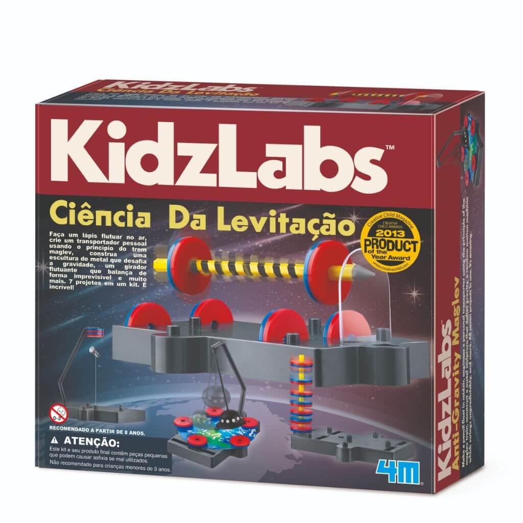 Ciência da Levitação KidzLabs