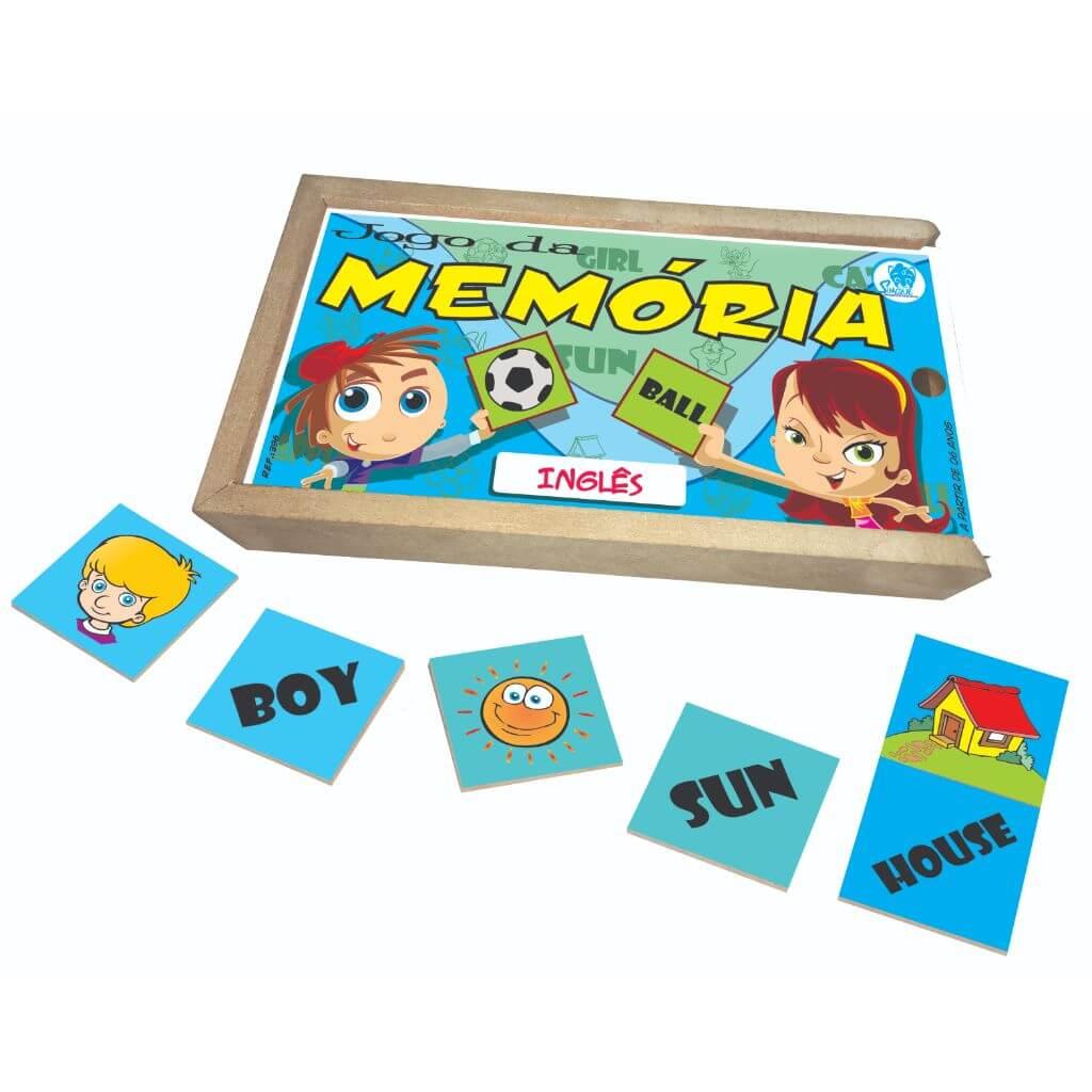 Jogo da Memória em Inglês