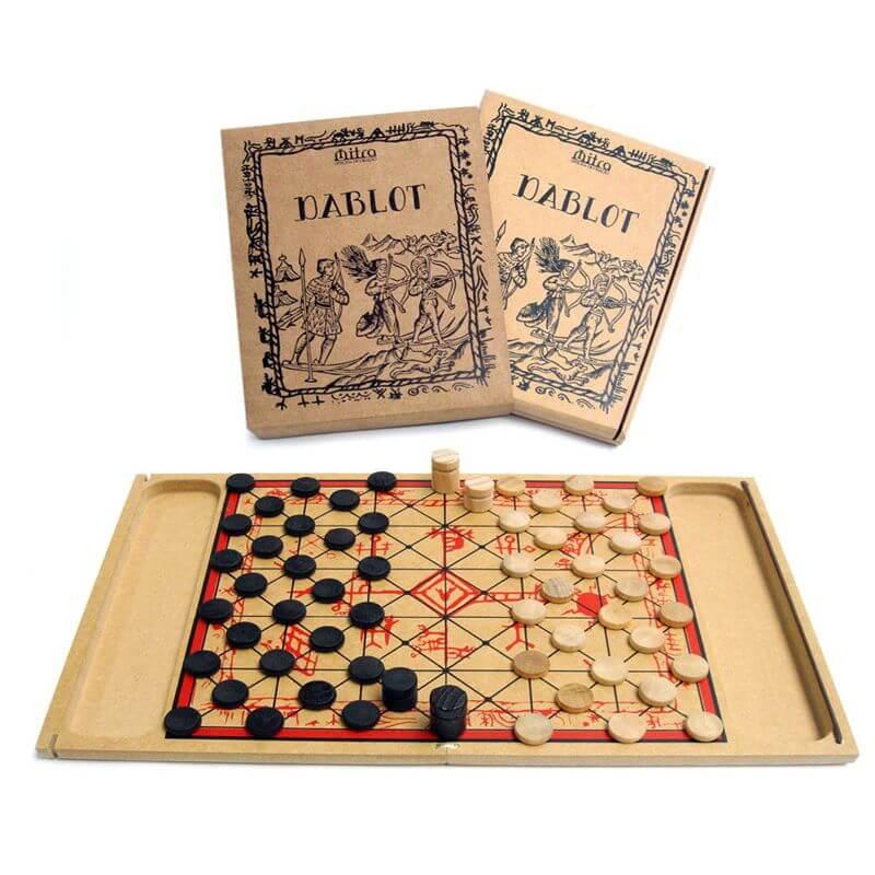 Jogo de Tabuleiro Dablot, Educativo de Estratégia e Raciocínio