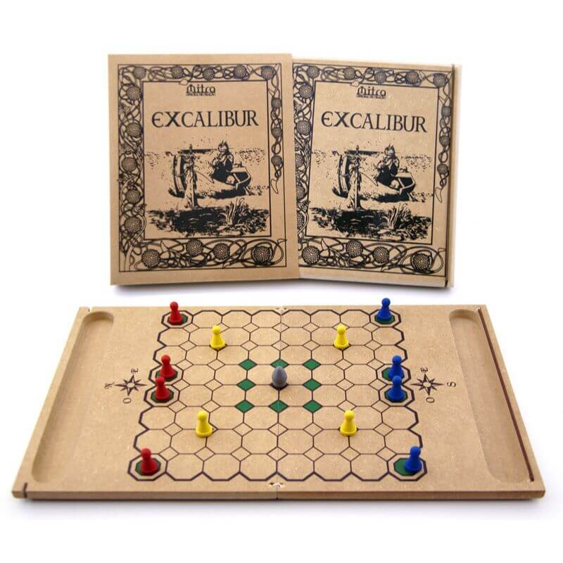 Jogo de Tabuleiro Excalibur, Educativo de Estratégia e Raciocínio