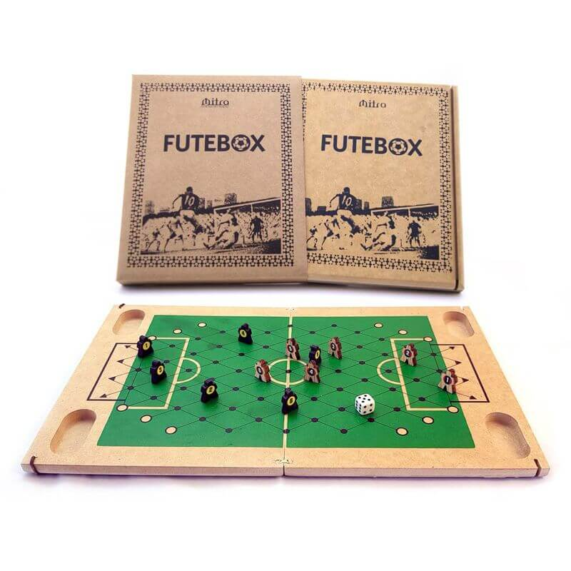 Jogo de Tabuleiro Futebox, Educativo de Estratégia e Raciocínio