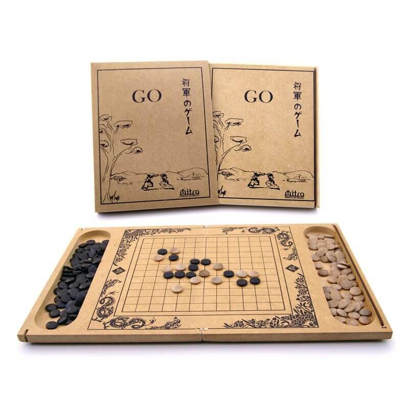 Jogo de Tabuleiro Go, Educativo de Estratégia e Raciocínio